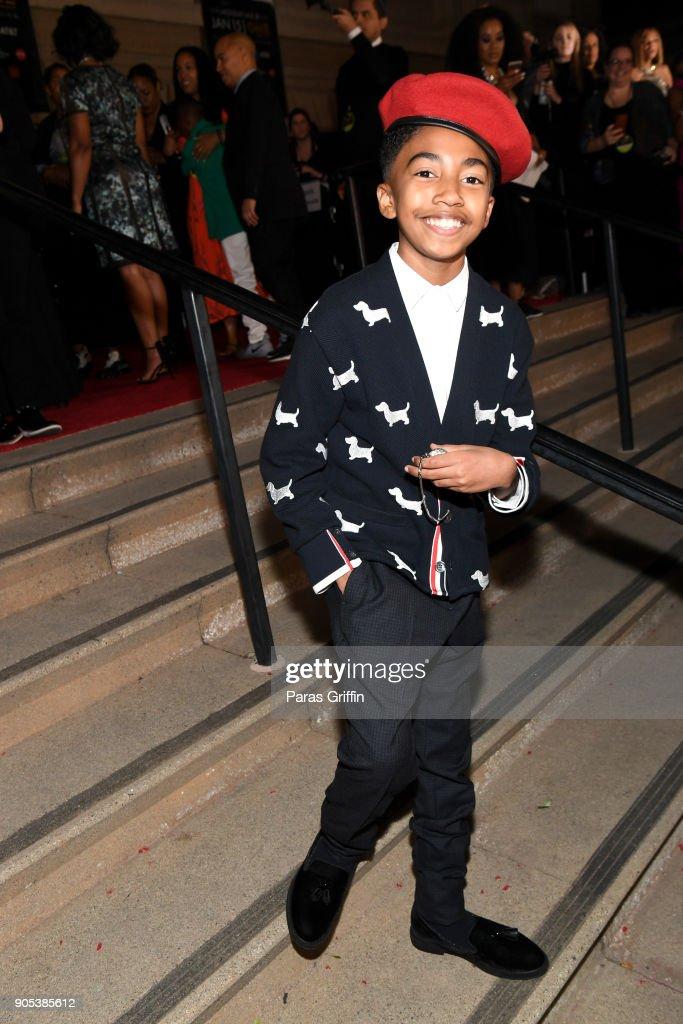 Miles Brown attends the 49th NAACP Image Awards at Pasadena Civic Auditorium on January 15, 2018 in Pasadena, California.
