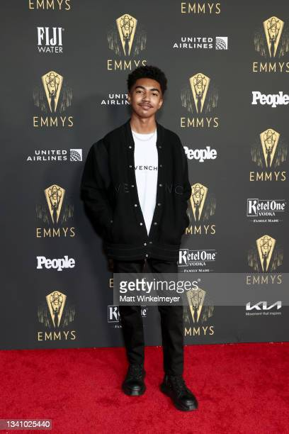 Miles Brown attends the Television Academy's Reception to Honor 73rd Emmy Award Nominees at Television Academy on September 17, 2021 in Los Angeles,...