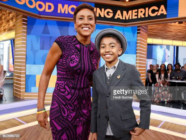 AMERICA Miles Brown is a guest on Good Morning America Tuesday June 27 airing on the Walt Disney Television via Getty Images Television Network ROBIN