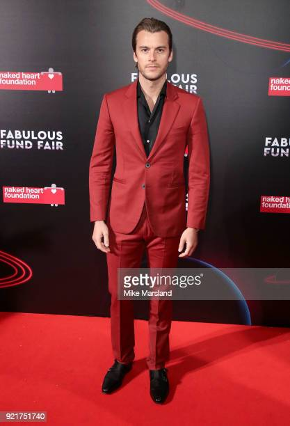 Miles Bugby attends the Naked Heart Foundation's Fabulous Fund Fair during London Fashion Week February 2018 at The Roundhouse on February 20 2018 in...