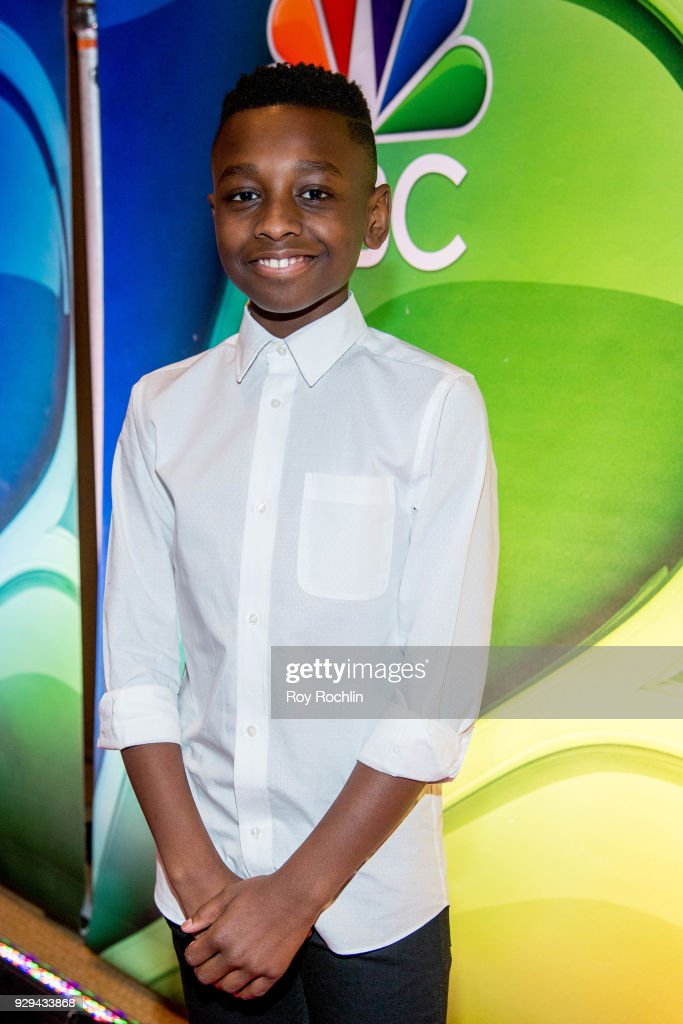 Miles Caton attends NBC's New York mid season press junket at Four Seasons Hotel New York on March 8, 2018 in New York City.