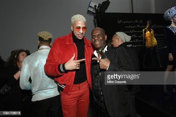 Miles Chamley Watson and Dapper Dan attend Harlem's Fashion Row Special Event during New York Fashion Week: The Shows at Gallery II at Spring Studios...