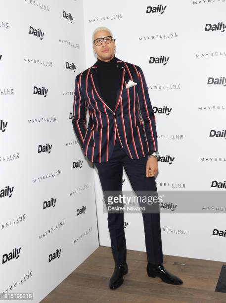 Miles ChamleyWatson attends Daily Front Row's 15th Anniversary Celebration on February 6 2018 in New York City