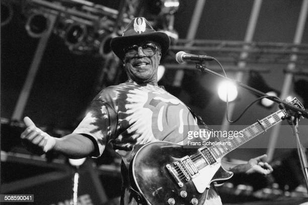 Miles Davis at the North Sea Jazz Festival in the Hague Netherlands on 16th July 1995