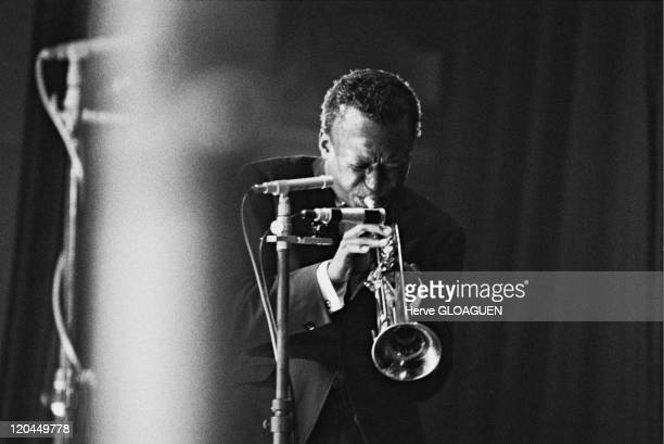 Miles Davis in Paris France in 1964 Miles Davis Jazzman Pleyel Hall