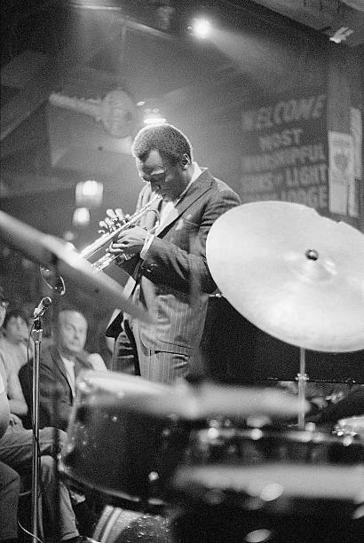 Miles Davis Performing in Nightclub