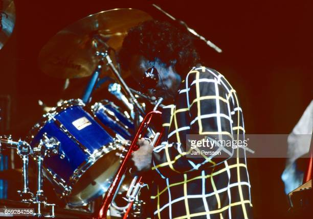 Miles Davis performing at the North Sea Jazz Festival The Hague Netherlands July 1991
