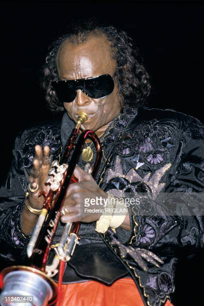 Miles Davis Performs At Zenith On November 4th 1986 In ParisFrance