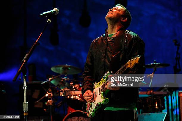 Miles Doughty of Slightly Stoopid performs during the High Times US Cannabis Cup at Red Rocks Amphitheatre on April 20 2013 in Morrison Colorado
