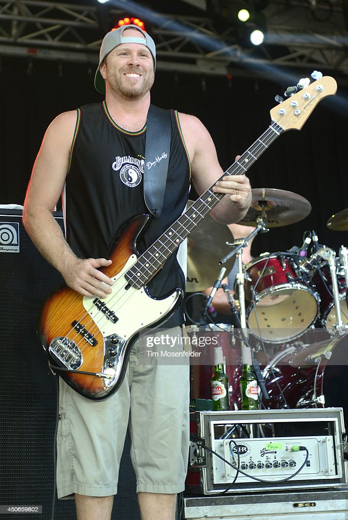 Miles Doughty of Slightly Stoopid performs performs during the 2014 Bonnaroo Music & Arts Festival on June 14, 2014 in Manchester, Tennessee.