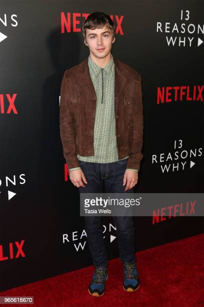 Miles Heizer attends #NETFLIXFYSEE event for 13 Reasons Why Season 2 at Netflix FYSEE At Raleigh Studios on June 1 2018 in Los Angeles California