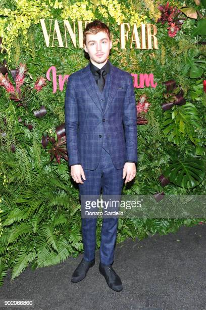 Miles Heizer attends Vanity Fair x Instagram Celebrate the New Class of Entertainers at Mel's Diner on Golden Globes Weekend at Mel's Diner on...