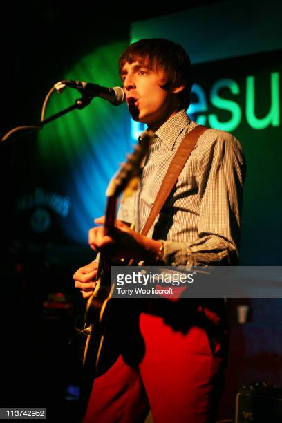 Miles Kane performs at The Sugarmill on May 4, 2011 in Stoke-on-Trent, Staffordshire.