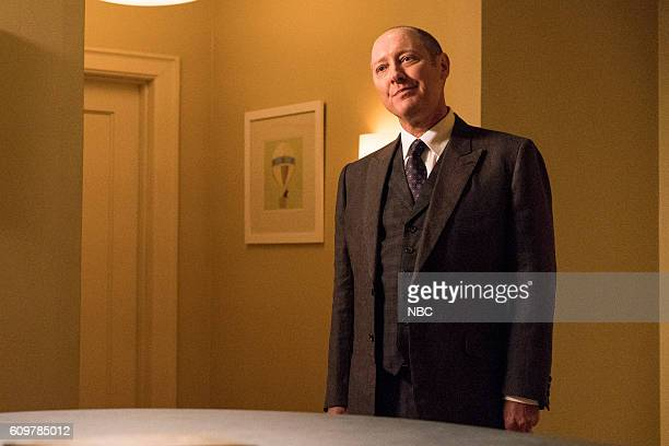 THE BLACKLIST 'Miles McGrath' Episode 403 Pictured James Spader as Raymond 'Red' Reddington
