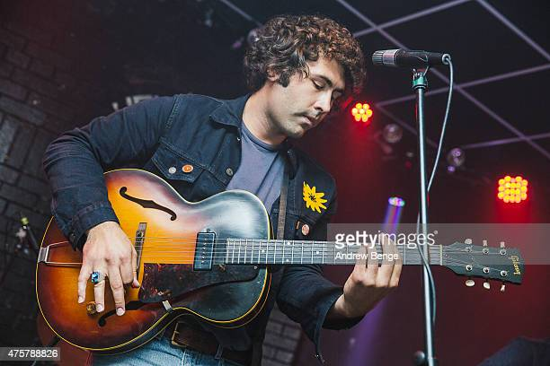Miles Michaud of AllahLas performs on stage at Brudenell Social Club on June 3 2015 in Leeds United Kingdom