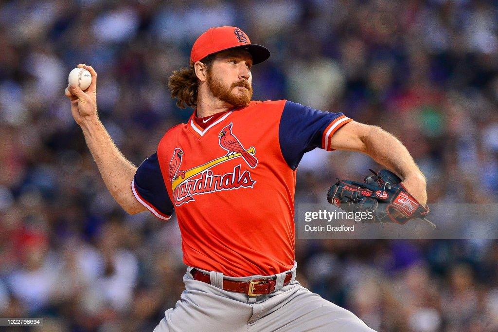 St Louis Cardinals v Colorado Rockies : News Photo