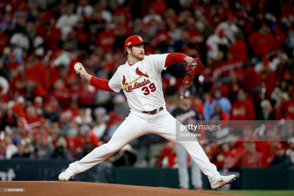 League Championship Series - Washington Nationals v St Louis Cardinals - Game One : News Photo
