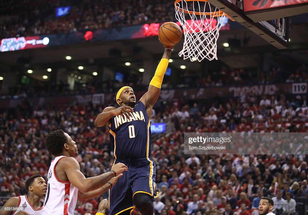 Indiana Pacers v Toronto Raptors - Game One : News Photo