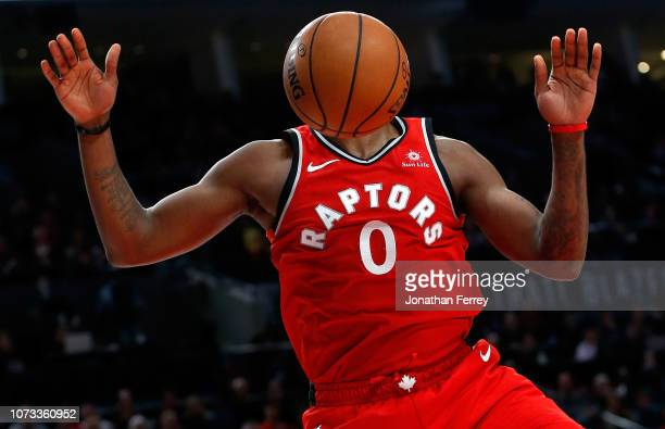 J Miles of the Toronto Raptors dunks the ball against the Portland Trail Blazers at Moda Center on December 14 2018 in Portland OregonNOTE TO USER...