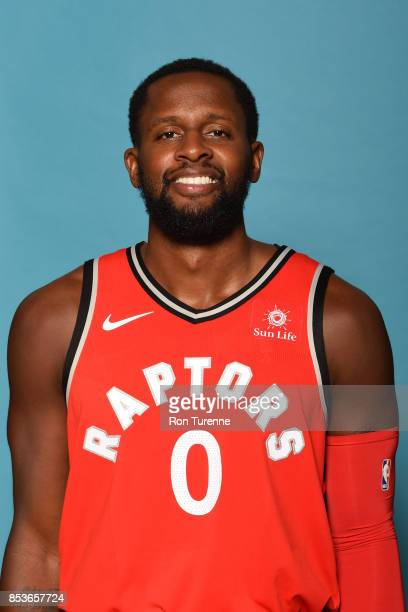 Miles of the Toronto Raptors poses for a head shot during Media Day on September 25 2017 at the BioSteel Centre in Toronto Ontario Canada NOTE TO...