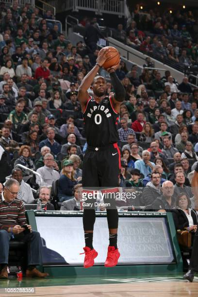 Miles of the Toronto Raptors shoots the ball against the Milwaukee Bucks on October 29 2018 at Fiserv Forum in Milwaukee Wisconsin NOTE TO USER User...
