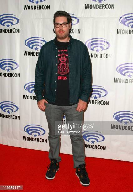 Miles Orion Feldsott attends the 'Deadly Class' press line during WonderCon 2019 at Anaheim Convention Center on March 30 2019 in Anaheim California