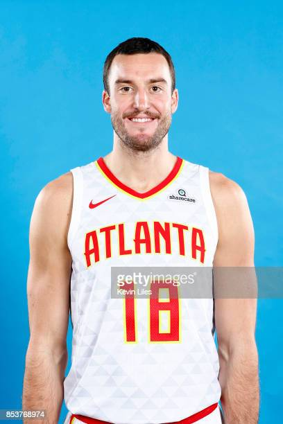 Miles Plumlee of the Atlanta Hawks poses for a head shot during Media Day on September 25 2017 at Four Season Hotel in Atlanta Georgia NOTE TO USER...