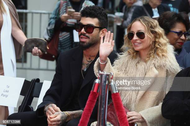 Miles Richie and Nicole Richie attend the Lionel Richie Hand And Footprint Ceremony at TCL Chinese Theatre on March 7 2018 in Hollywood California