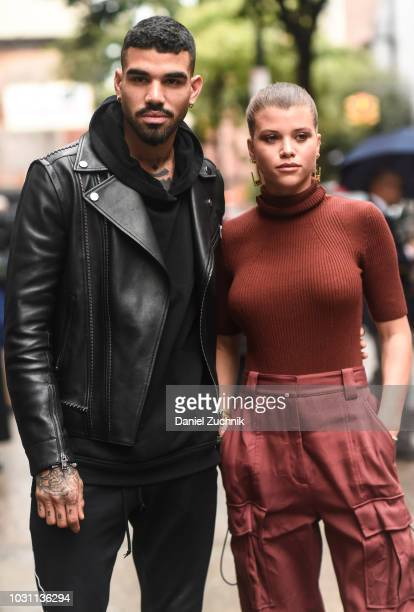 Miles Richie and Sofia Richie are seen wearing a Phillip Lim outfit outside the 3.1 Phillip Lim show during New York Fashion Week: Women's S/S 2019...