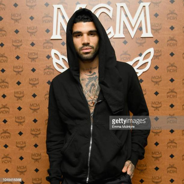 Miles Richie attends PopIn@Nordstrom MCM at Chateau Marmont on October 3 2018 in Los Angeles California