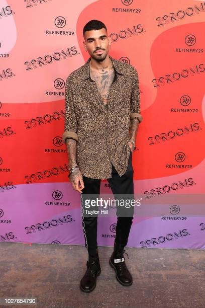 Miles Richie attends Refinery29's 29Rooms Opening Night on September 5, 2018 in Brooklyn, New York.