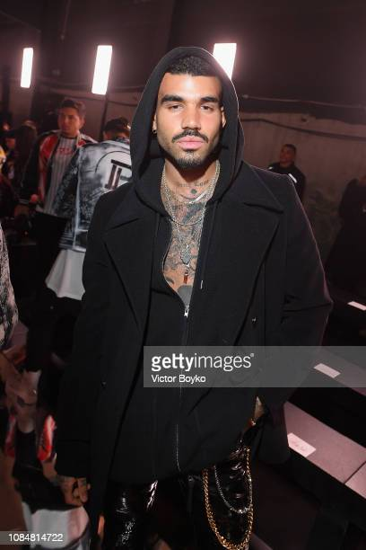 Miles Richie attends the Balmain Homme Menswear Fall/Winter 20192020 show as part of Paris Fashion Week on January 18 2019 in Paris France