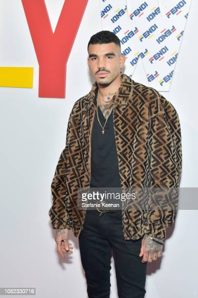 Miles Richie attends the FENDI MANIA Capsule Collection Launch Event at Fendi on October 16, 2018 in Beverly Hills, California.