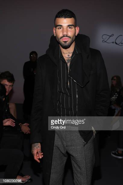 Miles Richie attends the LaQuan Smith fashion show during New York Fashion Week at Pier 59 on September 9, 2018 in New York City.