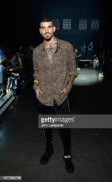 Miles Richie attends VFILES shoe during September 2018 New York Fashion Week at Barclays Center on September 5 2018 in New York City