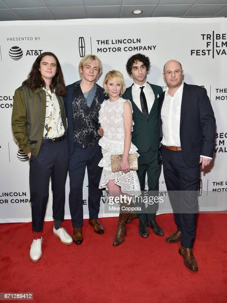 Miles Robbins Ross Lynch Anne Heche Alex Wolff and Marc Meyers attend the My Friend Dahmer Premiere during 2017 Tribeca Film Festival at Cinepolis...