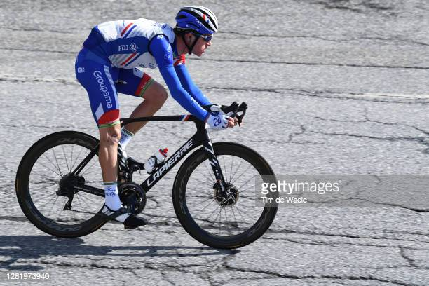 Miles Scotson of Australia and Team Groupama - FDJ / during the 103rd Giro d'Italia 2020, Stage 20 a 190km stage from Alba to Sestriere 2035m /...