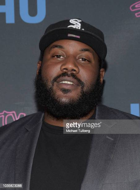 Miles Stroter attends the premiere party for LookHu's Slasher Party at ArcLight Hollywood on September 18 2018 in Hollywood California