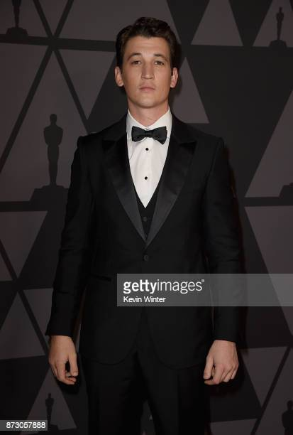 Miles Teller attends the Academy of Motion Picture Arts and Sciences' 9th Annual Governors Awards at The Ray Dolby Ballroom at Hollywood Highland...