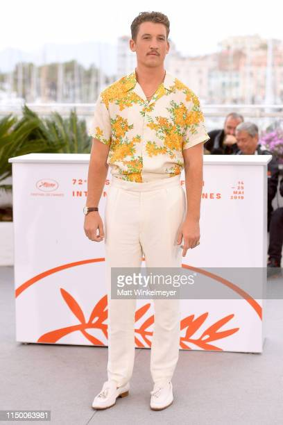 Miles Teller attends the Too Old To Die Young photocall during the 72nd annual Cannes Film Festival on May 18 2019 in Cannes France