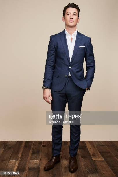 Miles Teller poses for portrait session at the 2017 Film Independent Spirit Awards on February 25 2017 in Santa Monica California