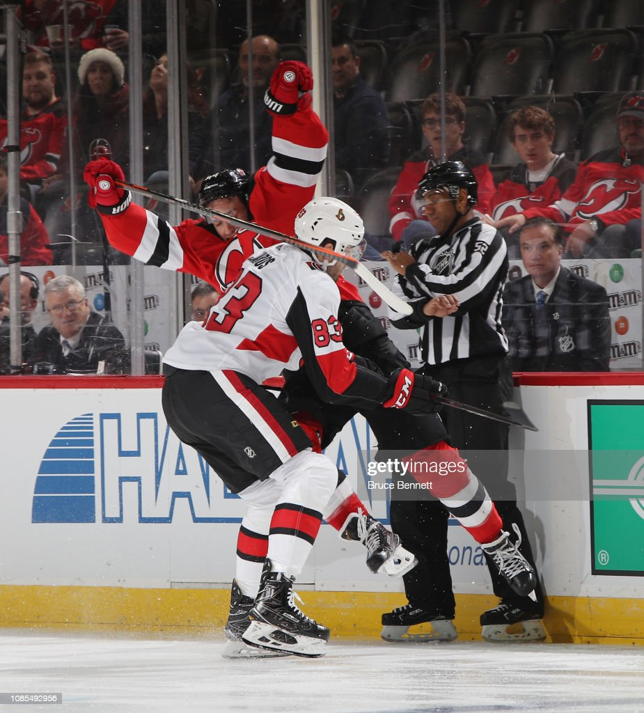 Ottawa Senators v New Jersey Devils : News Photo