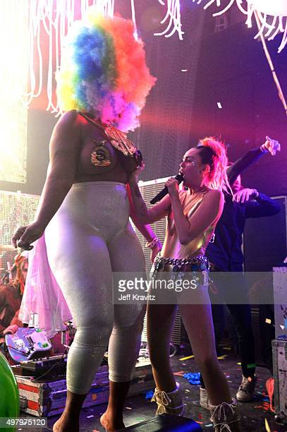 Miley Cyrus and Her Dead Petz tour opener at The Riviera Theatre on November 19 2015 in Chicago Illinois