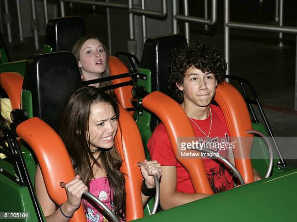 Miley Cyrus and Nick Jonas on Viper *EXCLUSIVE*
