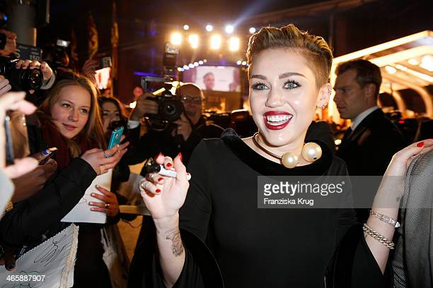 Miley Cyrus attends the Bambi Awards 2013 at Stage Theater on November 14 2013 in Berlin Germany
