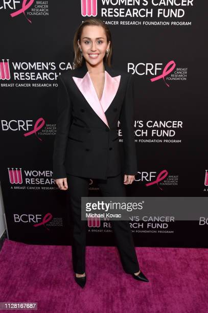 Miley Cyrus attends WCRF's An Unforgettable Evening at the Beverly Wilshire Four Seasons Hotel on February 28 2019 in Beverly Hills California
