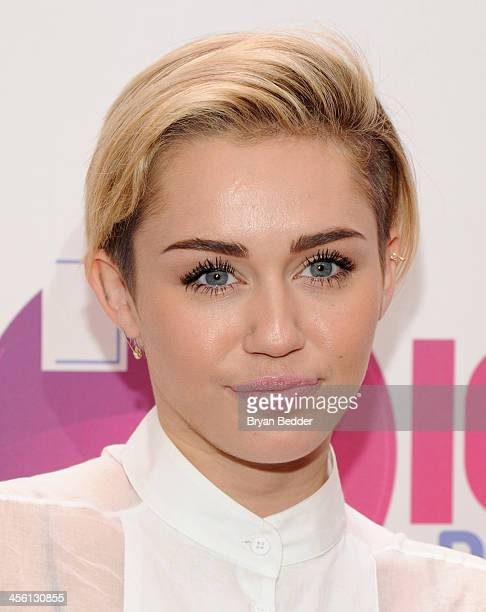 Miley Cyrus attends Z100's Jingle Ball 2013 presented by Aeropostale at Madison Square Garden on December 13 2013 in New York City