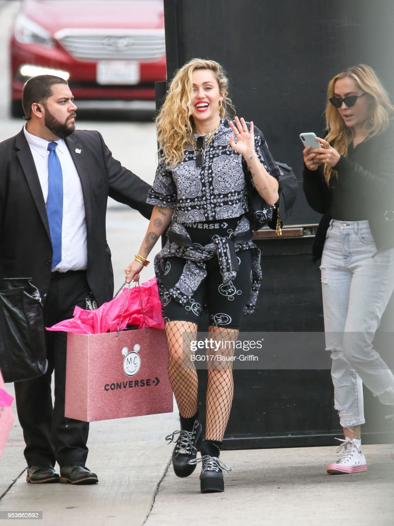 Celebrity Sightings In Los Angeles - May 01, 2018 : News Photo