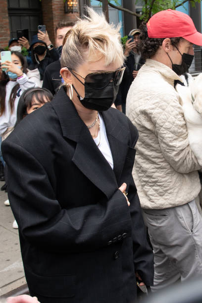 NY: Celebrity Sightings In New York City - May 08, 2021