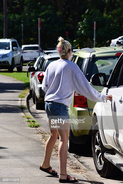 Miley Cyrus is seen on April 29 2016 in Byron Bay Australia
